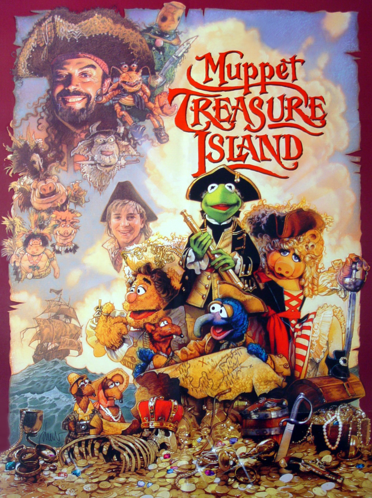Muppet Treasure Island Film